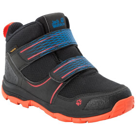 Jack Wolfskin MTN Attack 3 Texapore VC Chaussures Mi-Hautes Enfant, black/orange